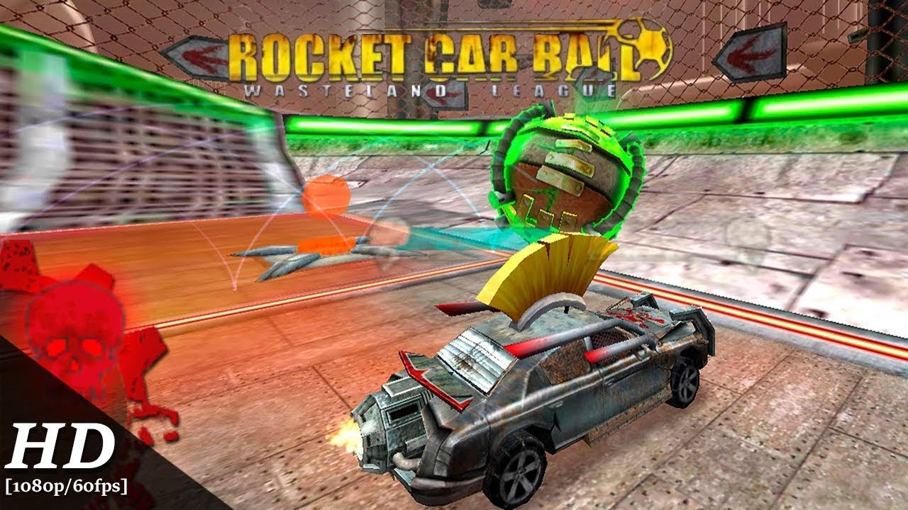 Реактивный автофутбол - Rocket Car Ball