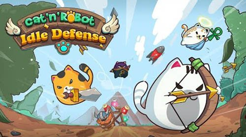 Cat'n'Robot: Idle Defense - Cute Castle TD PVP
