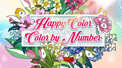 Скачать Happy Color – раскраска по номерам взломанный (Mod ...